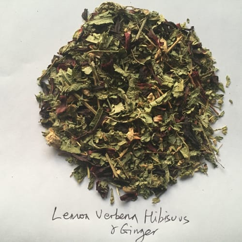 Lemon, Verbena, Hibiscus and Ginger