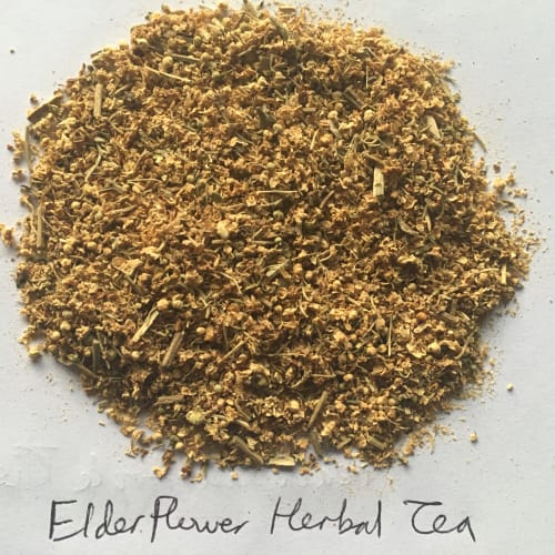 Elderflower loose leaf tea